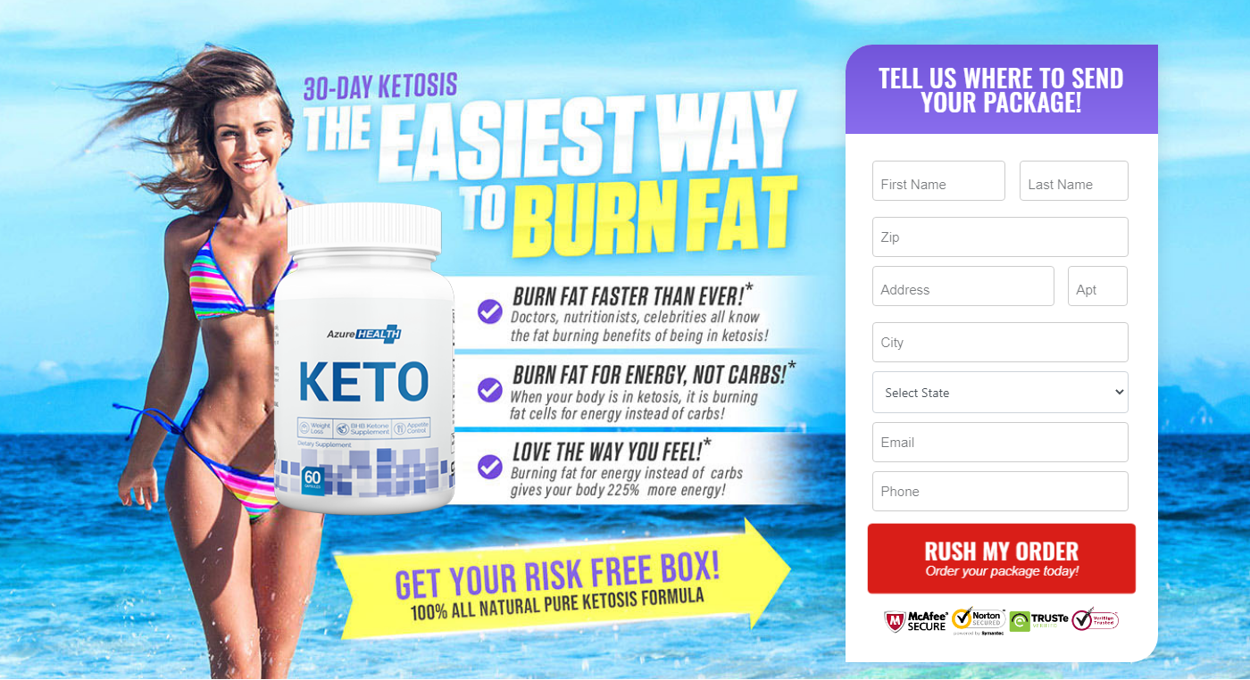 Azure Health Keto® Reviews: (ACTIVE 2020) Increased Metabolism rate!