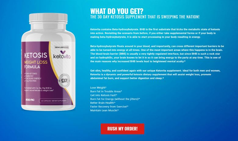 Keto Vita Diet Pills Review Torch Fat And Boost Metabolism | 100%_ Legit?