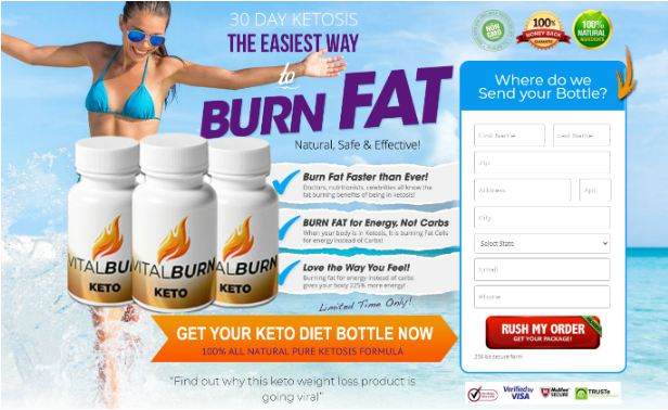 Vital Burn Keto Weight Loss Pills [Reviews] Melt Stubborn Fat Naturally!
