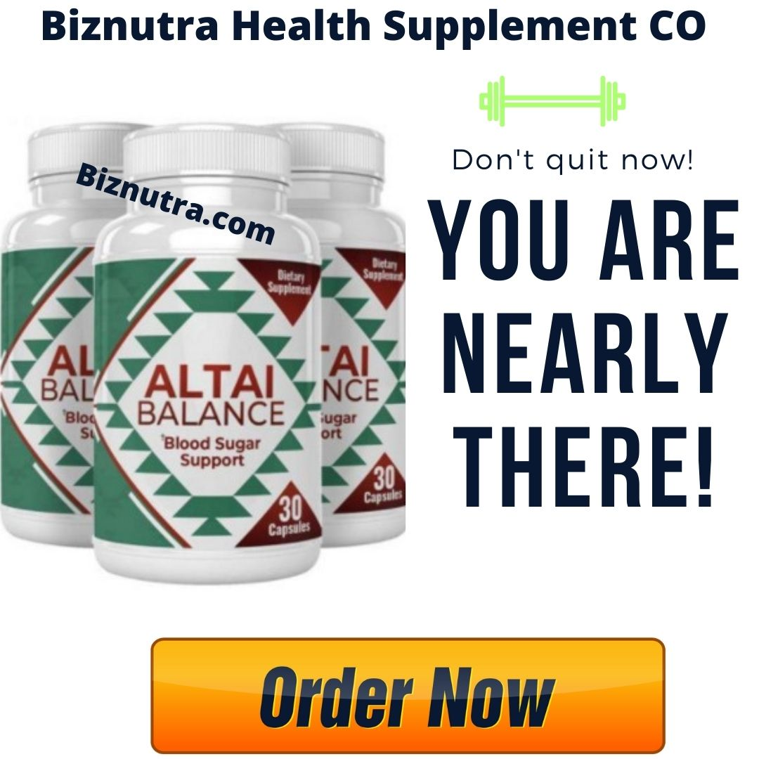 Altai Balance Blood Glucose Support _ Any Side Effect? Honest Reviews!