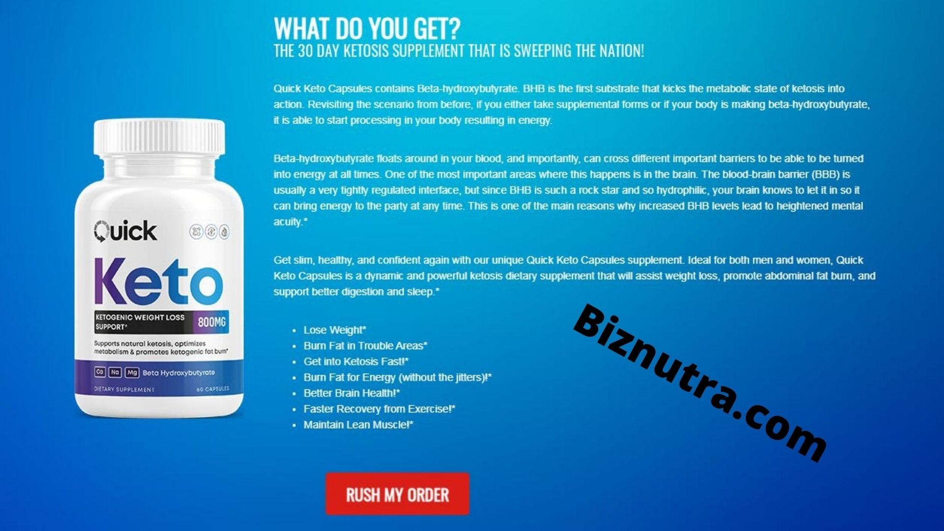 Quick Keto Fat Burn Pills [Review] Effective Ingredients 100% Natural!