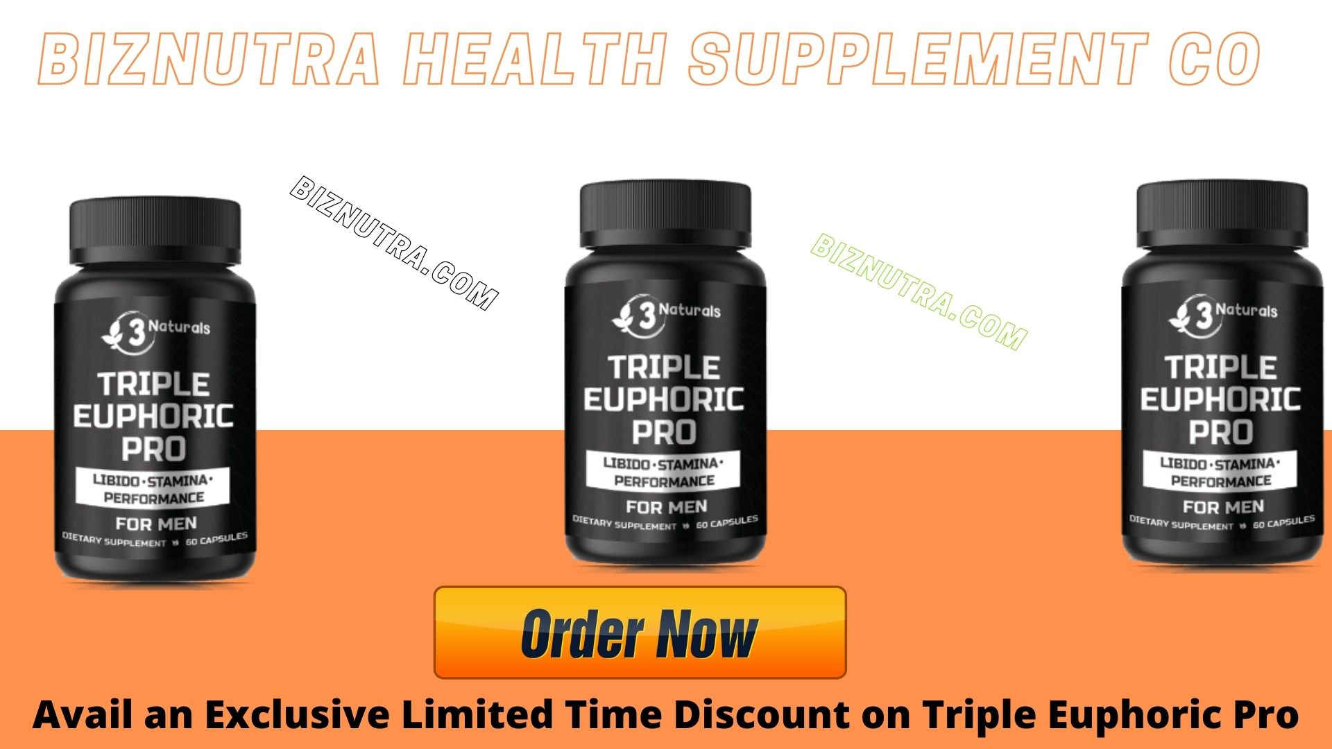 Triple Euphoric Pro Male Enhancement Pills Libido_Stamina Performance!
