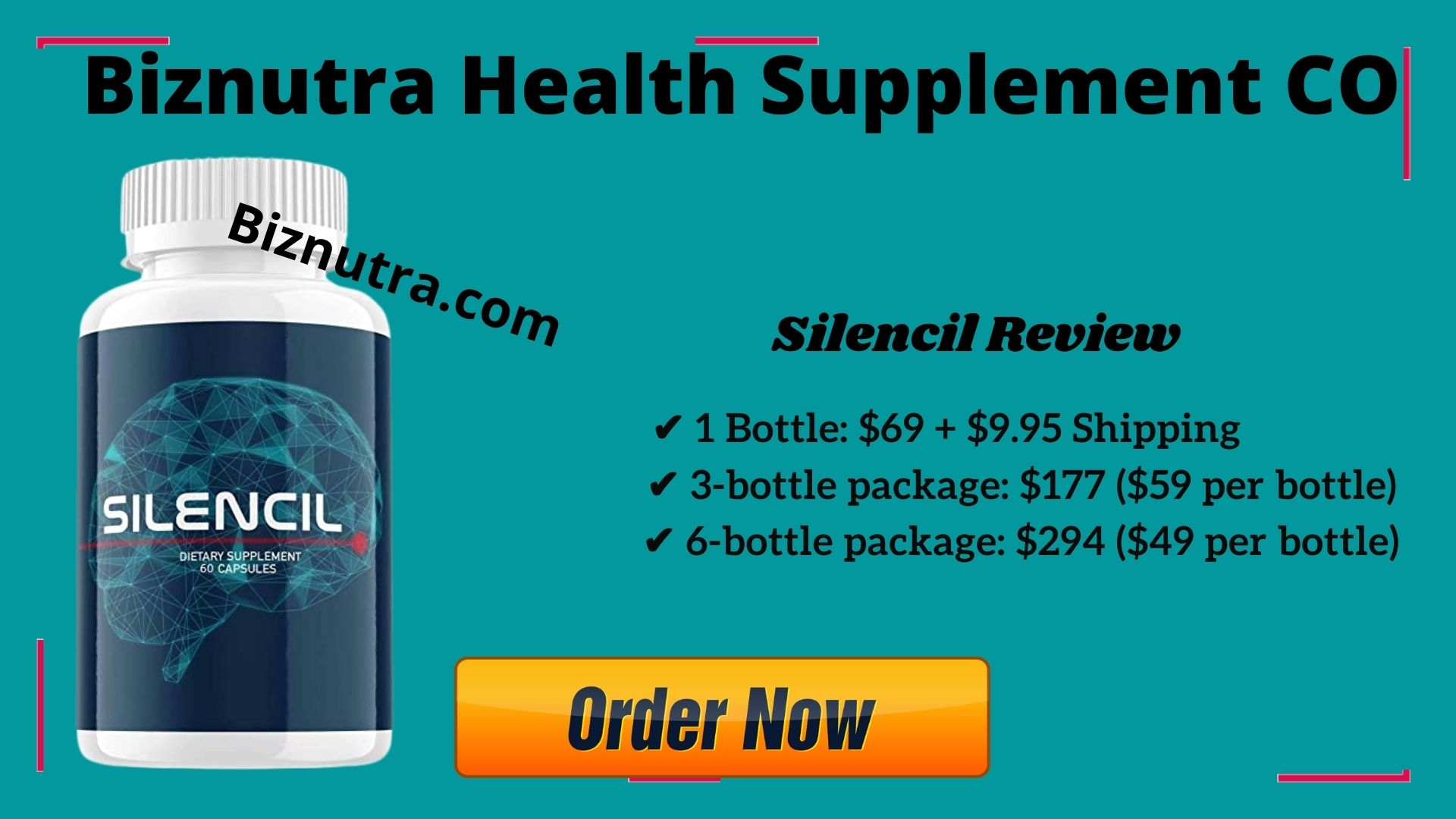 Silencil Review Supplement [100%_Legit] Is It Really Work & Scam?