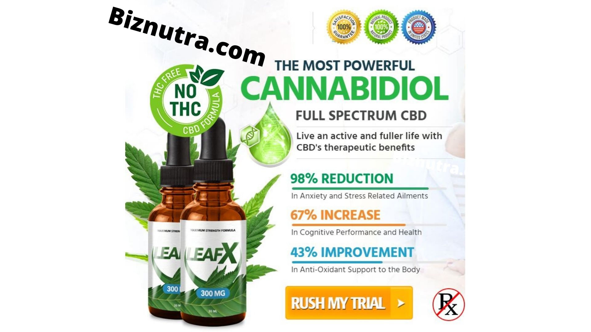 Leaf X CBD Oil [Review_2021] Use Leaf X to Require Care Of Yourself!
