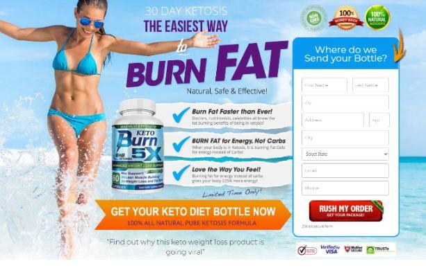 Keto Burn 5X Weoght Loss Review || Burn Stubborn Fat Away With Keto!