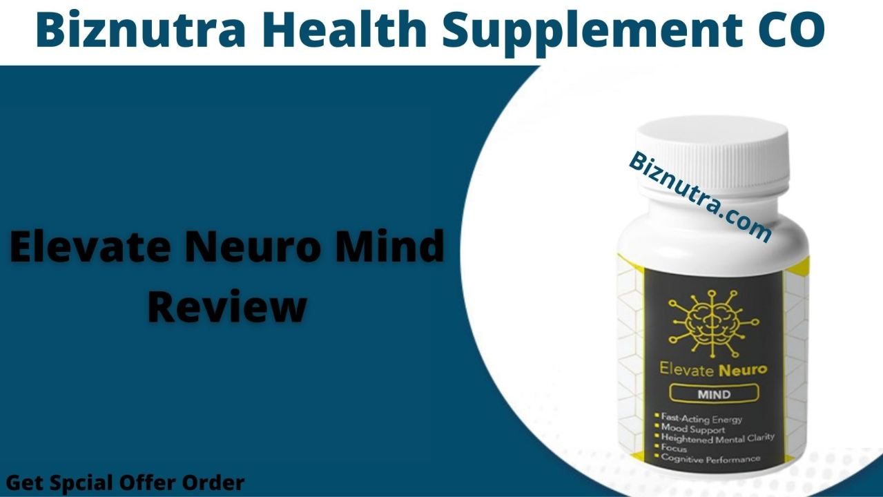 Elevate Neuro Mind #1 Brain Supplement Think Faster, Clearer & Smarter!