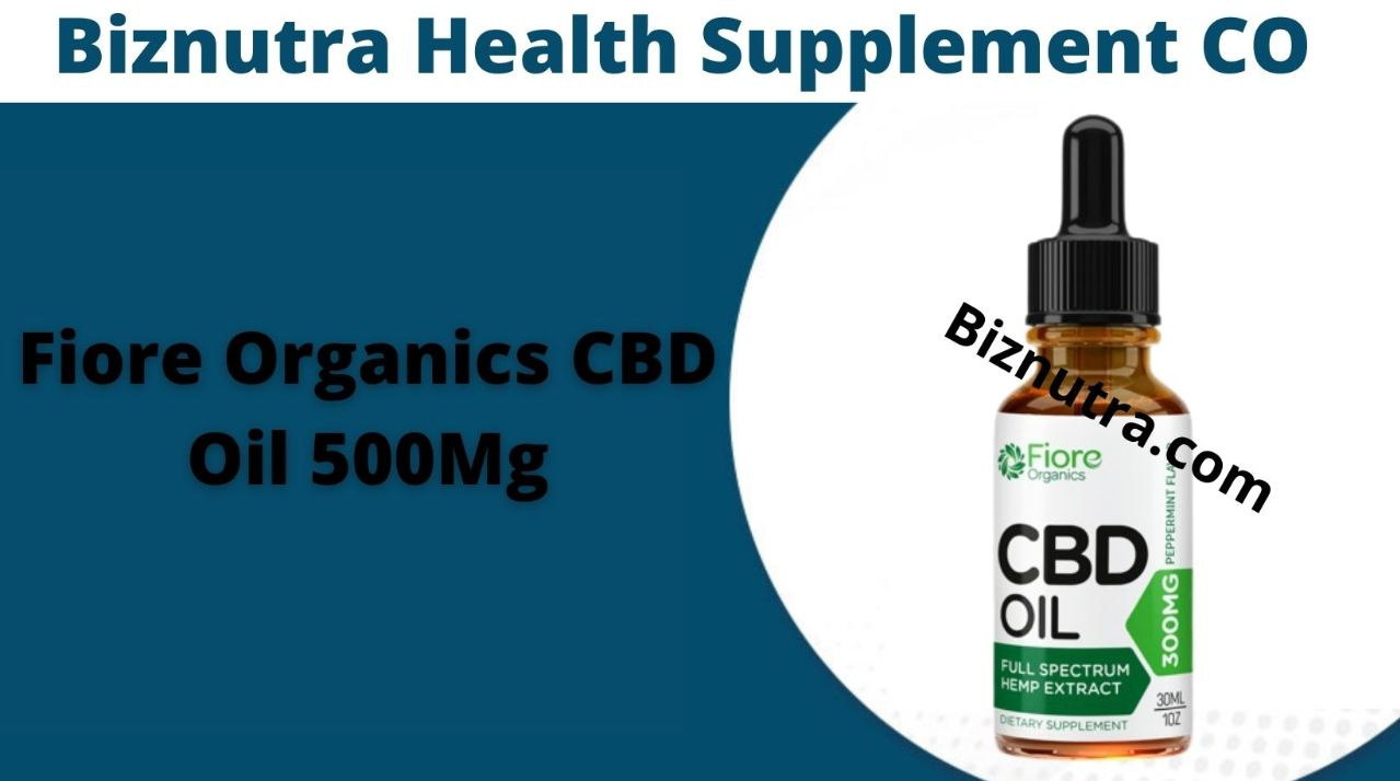 Fiore Organics CBD Oil Help To Loss Anxiety, Stress, Cancer & Relive Pain