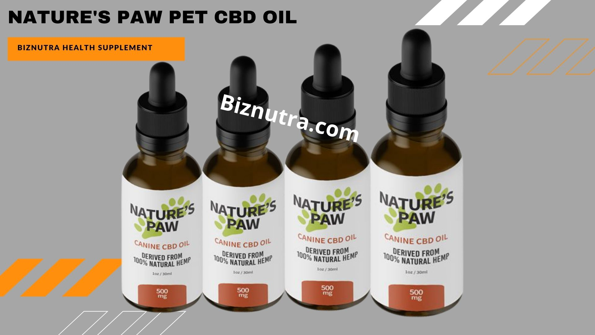 Nature's Paw Pet CBD Oil [Pros & Cons] #1 CBD Oil Does It Work Or Not?